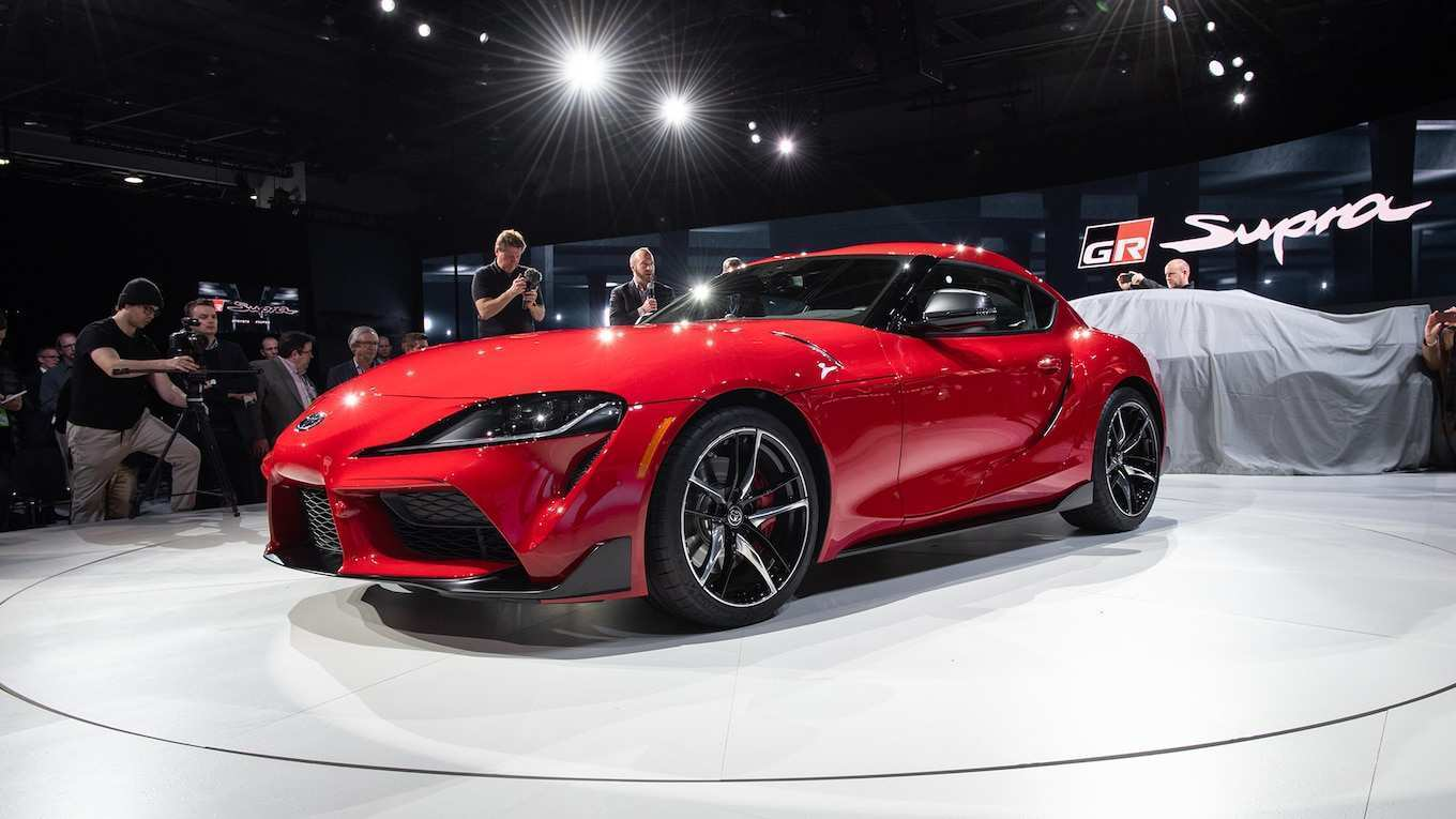 95 The 2020 Toyota Supra Quarter Mile New Review