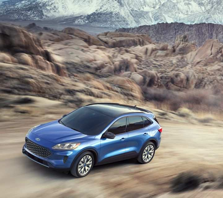 95 The Best 2020 Ford Escape Release Date And Concept