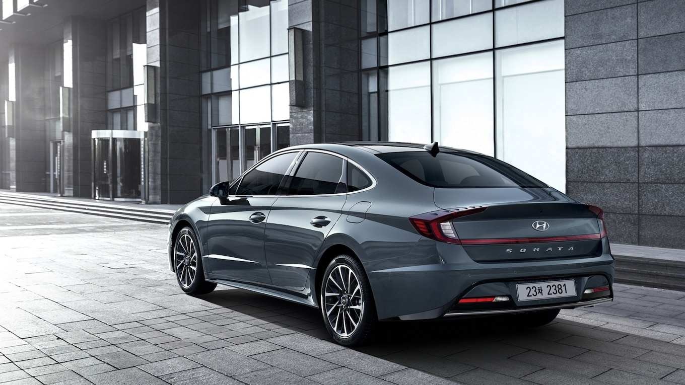 95 The Best 2020 Hyundai Sonata Release Date First Drive