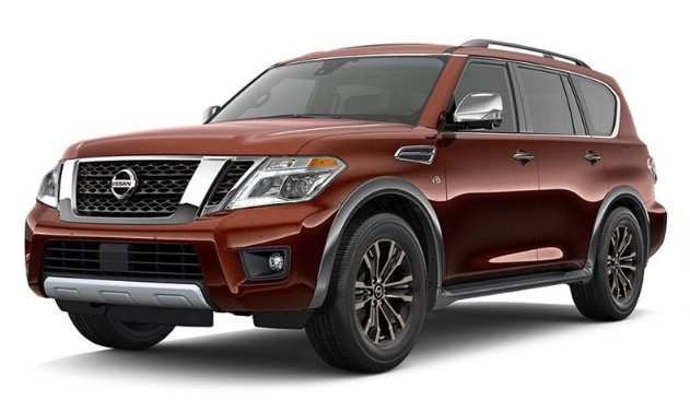 95 The Best 2020 Nissan Armada Redesign And Review