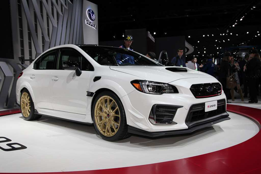 95 The Best Subaru Hatchback Sti 2020 New Review