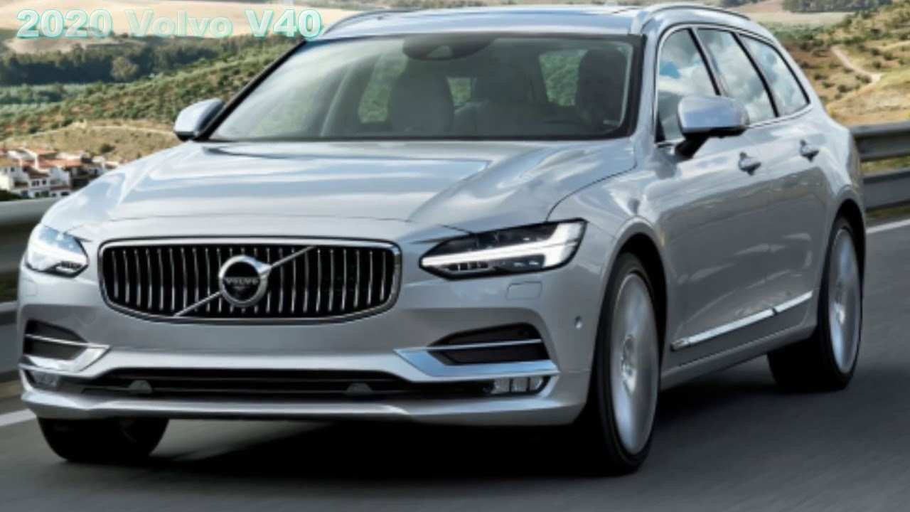 95 The Best Volvo New V40 2020 Exterior
