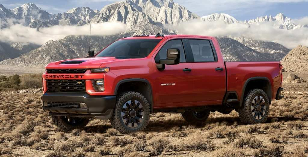 95 The Chevrolet Silverado 2020 Engine