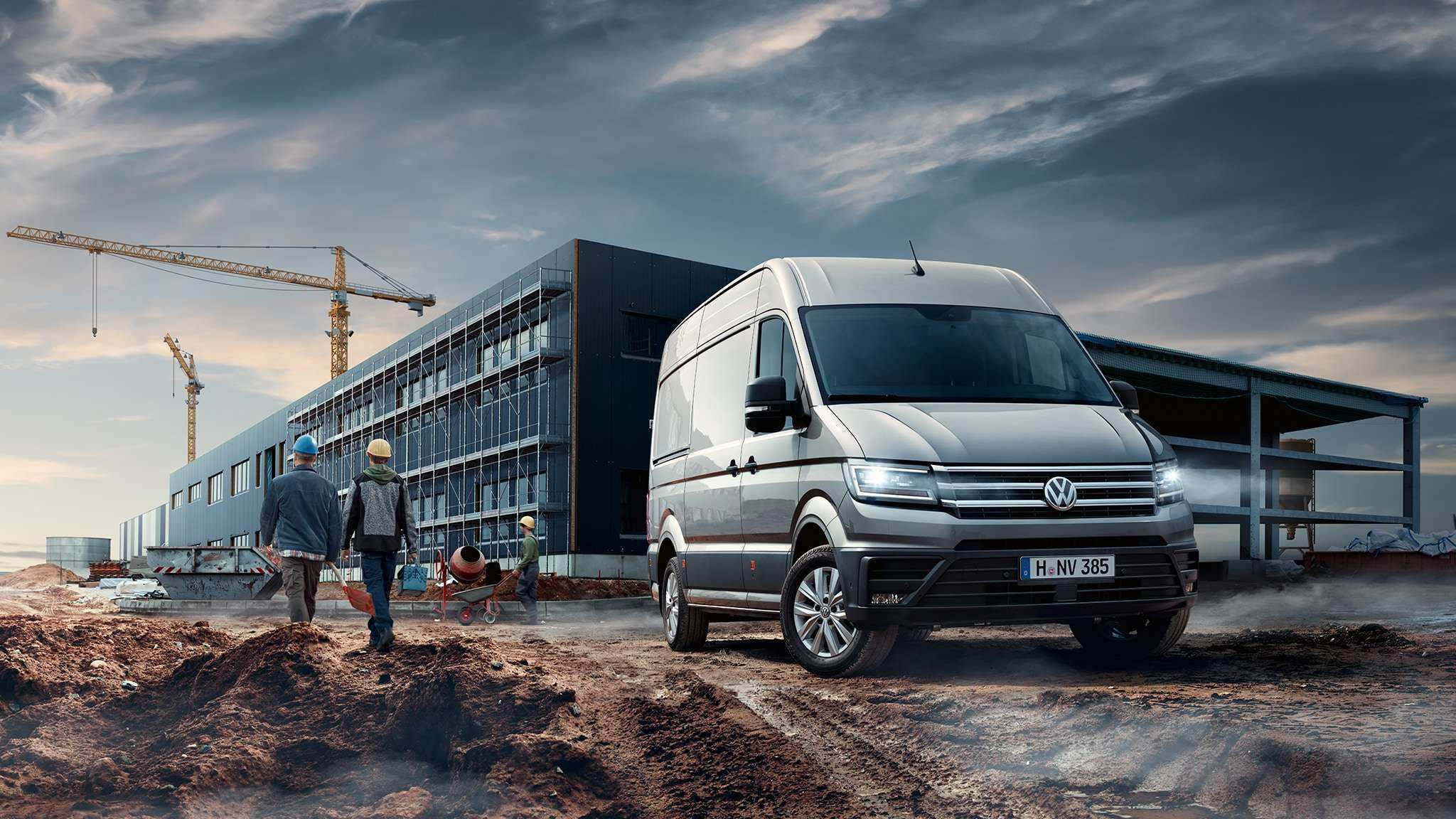 95 The Volkswagen Crafter 2019 Exterior