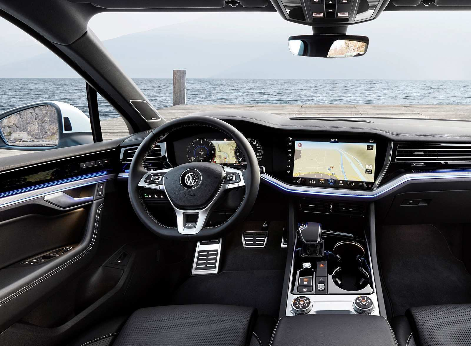 95 The Vw Touareg 2019 Interior Overview
