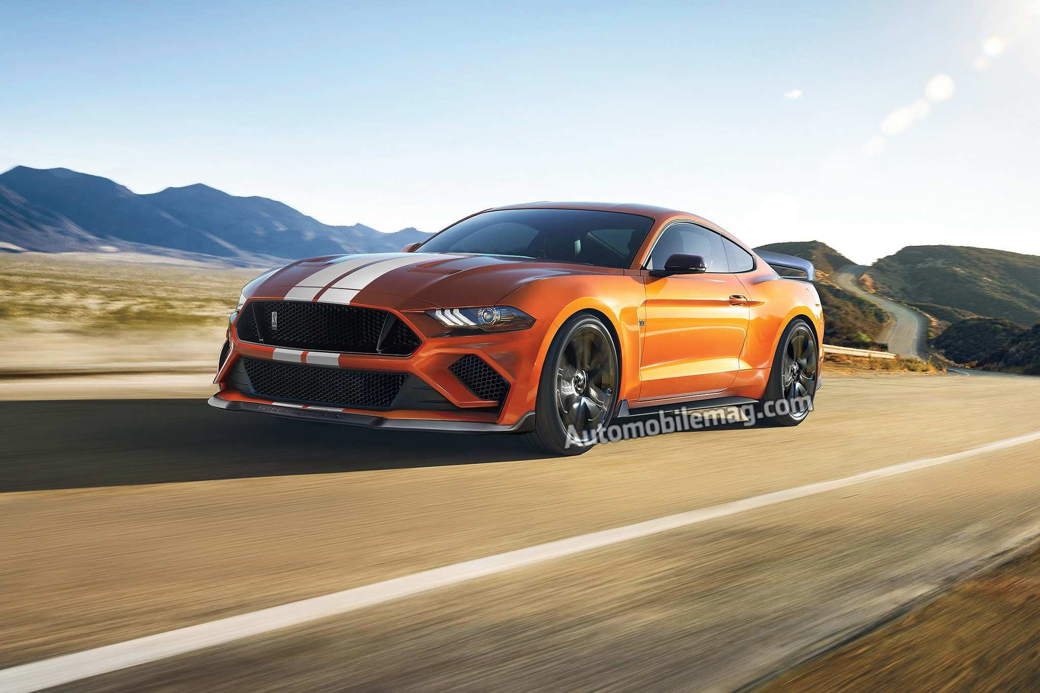 96 A 2019 Ford Mustang Gt500 Picture