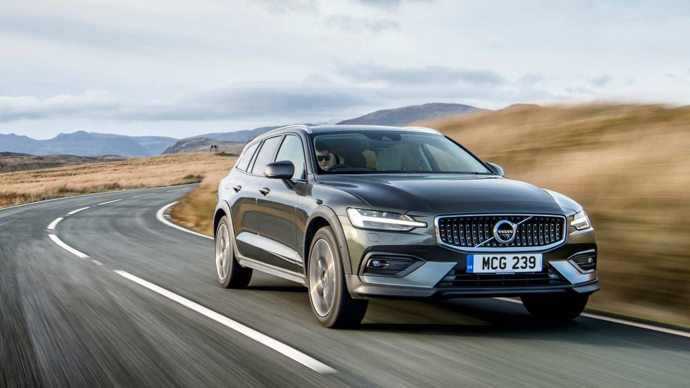 96 A 2019 Volvo V60 Cross Country Exterior And Interior