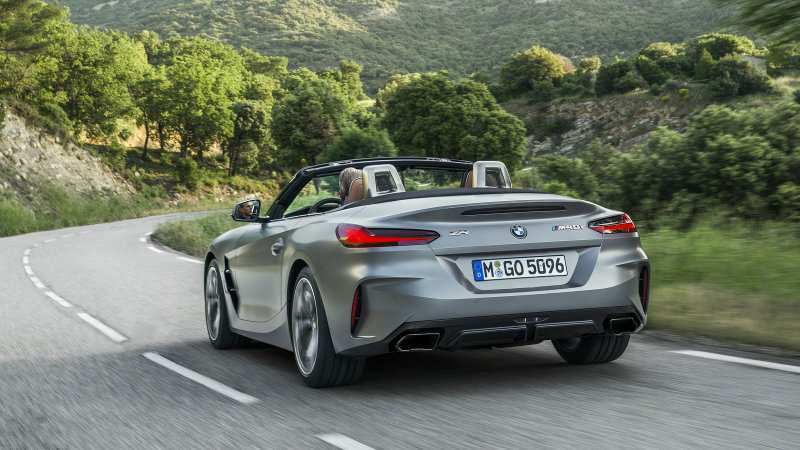 96 A 2020 BMW Z4 Spesification