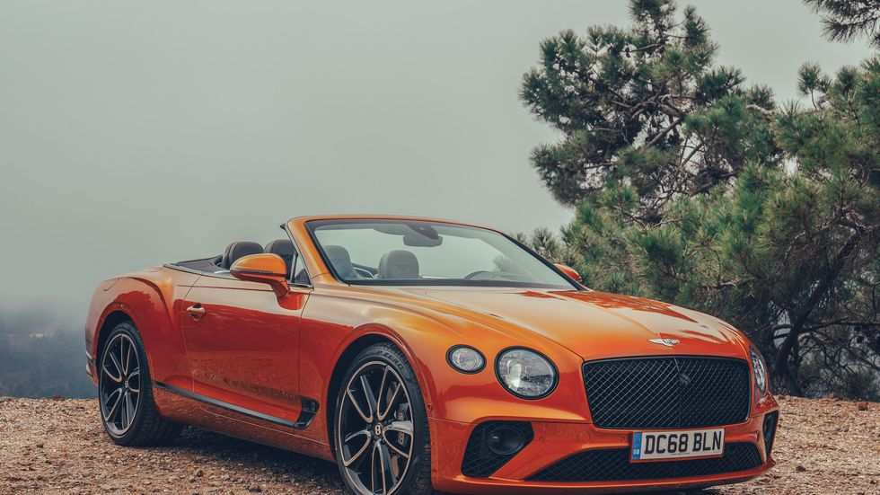96 A 2020 Bentley Continental GT History