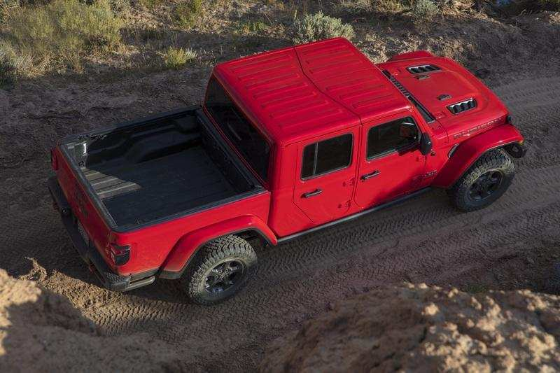 96 A 2020 Jeep Gladiator Length Exterior