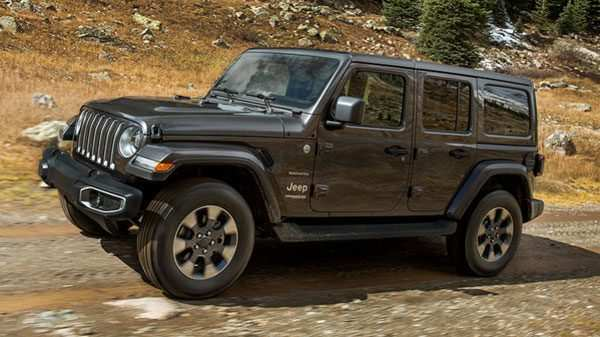 96 A 2020 Jeep Wrangler Unlimited Overview