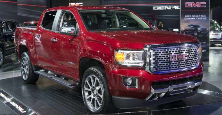 96 A GMC Canyon Denali 2020 Model