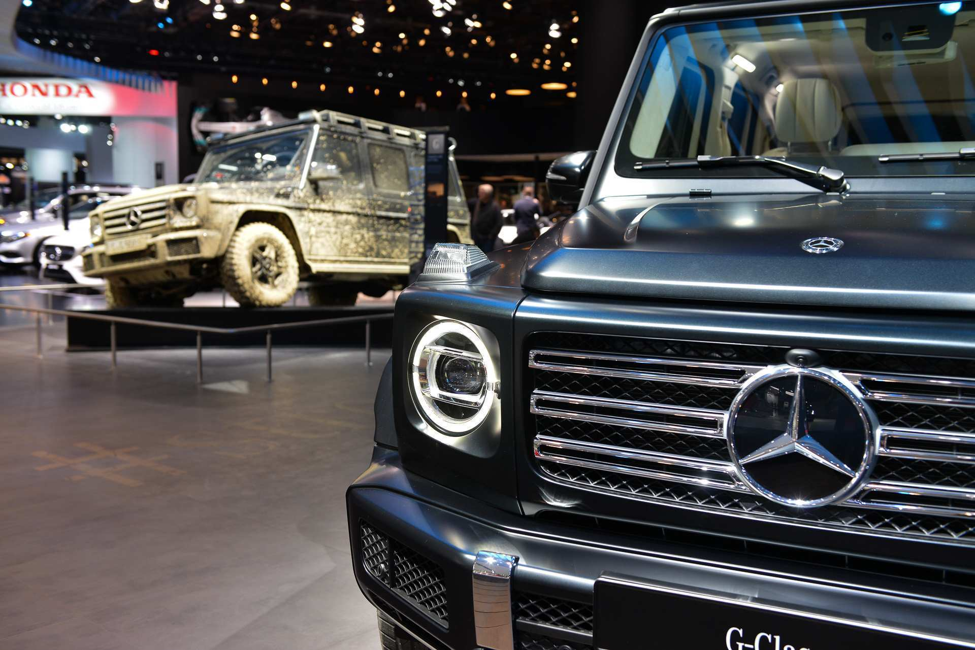 96 A Mercedes 2019 G Wagon Release