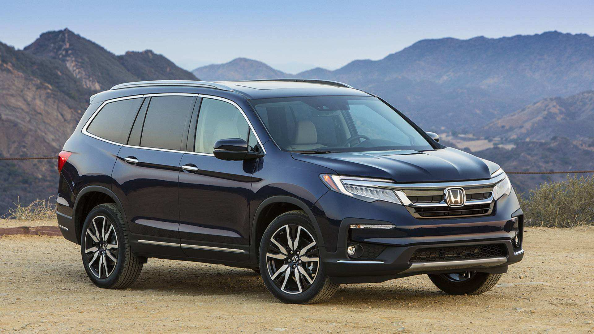 96 All New 2019 Honda Pilot Spy Photos Redesign