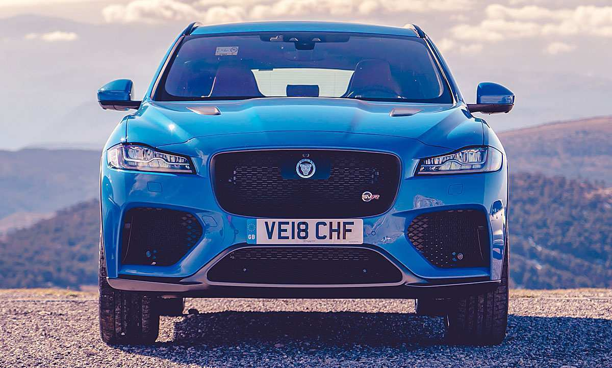 96 All New 2019 Jaguar F Pace Svr 2 New Review