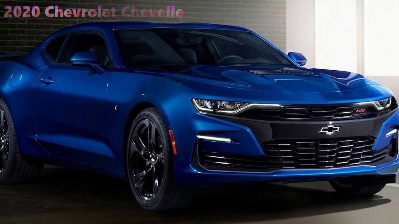 96 All New 2020 Chevelle Engine