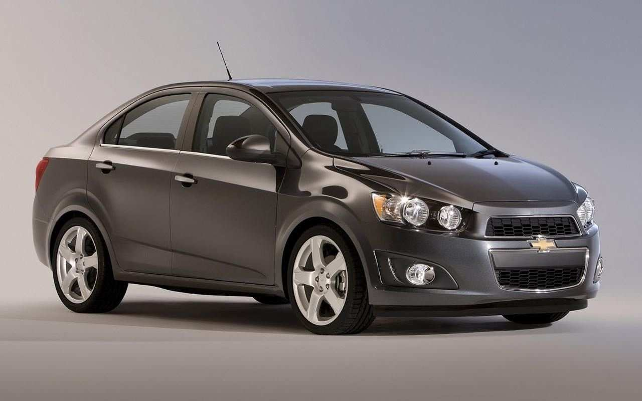 96 All New 2020 Chevy Sonic Price