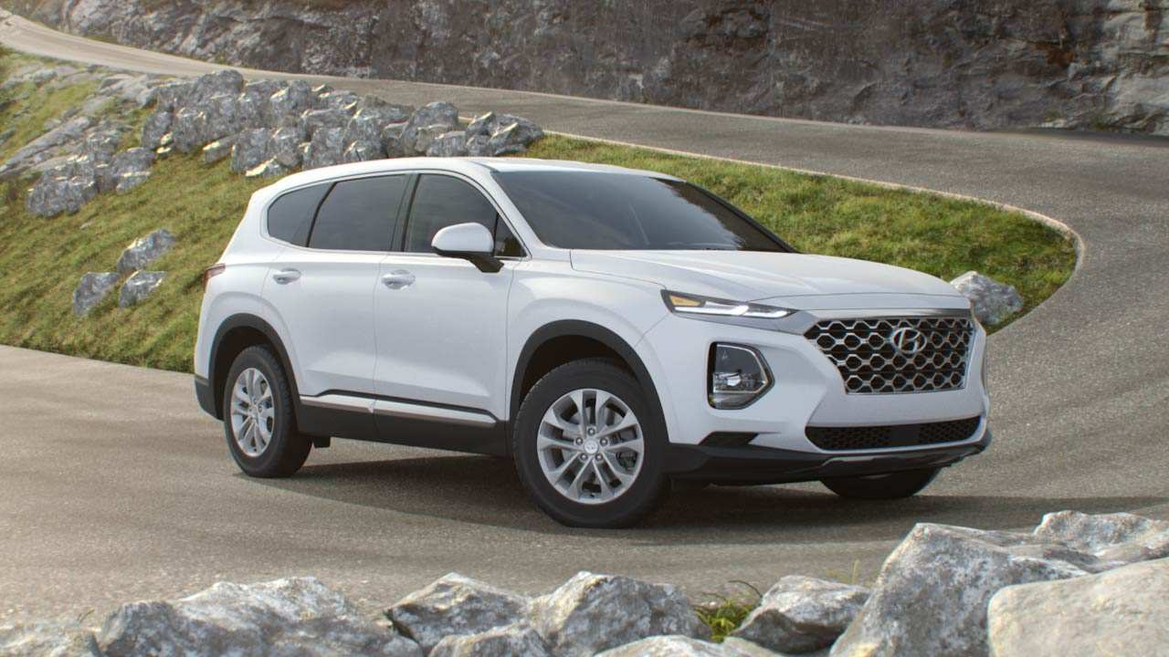 96 All New 2020 Hyundai Santa Fe Sport Exterior