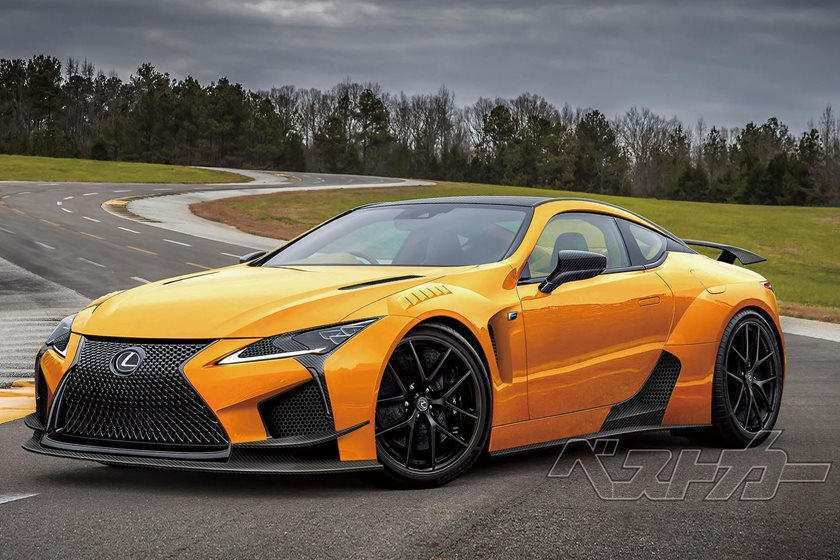 96 All New Lexus Lc F 2020 New Concept