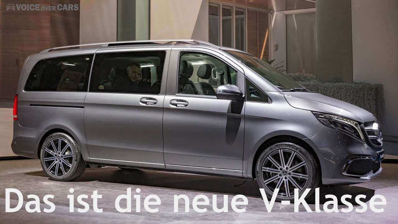 96 All New Mercedes V Klasse 2019 Review And Release Date