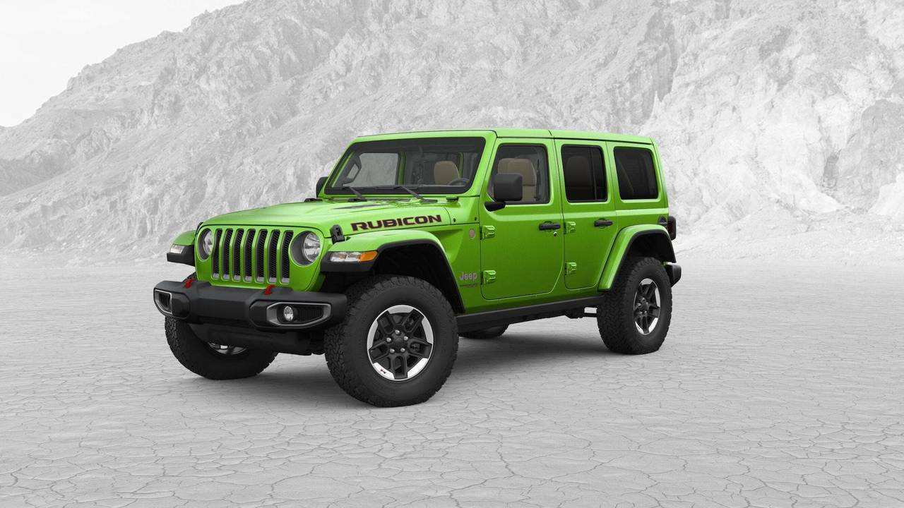 96 Best 2019 Jeep Jl Colors Speed Test