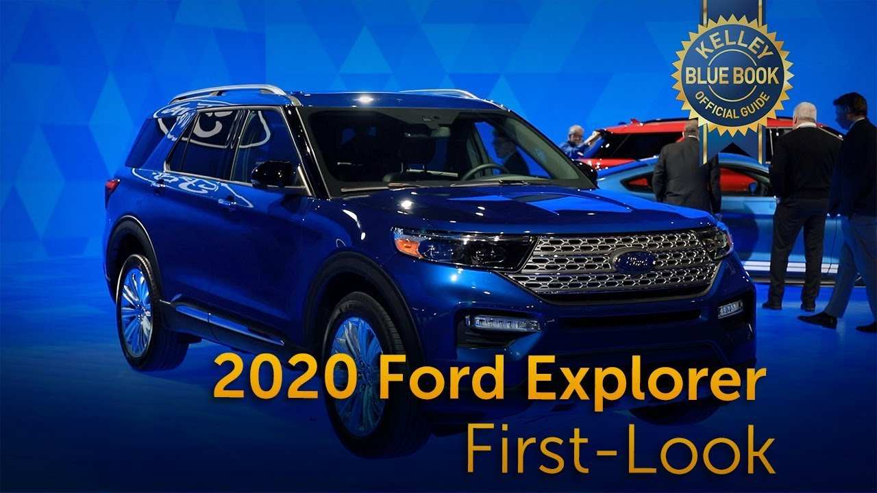96 Best 2020 Ford Explorer Job 1 Redesign And Concept