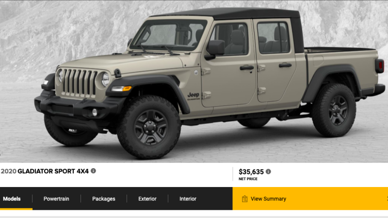 96 Best 2020 Jeep Gladiator Build And Price Release