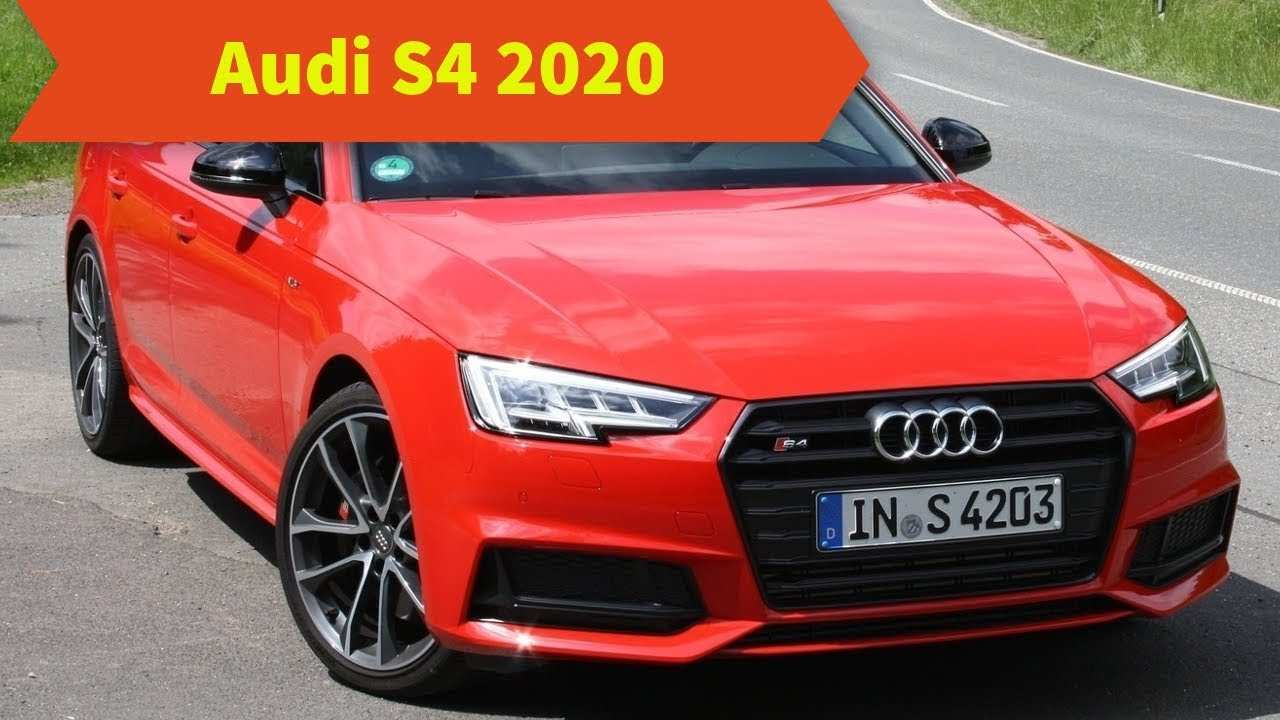 96 New 2020 Audi S4 Redesign And Review