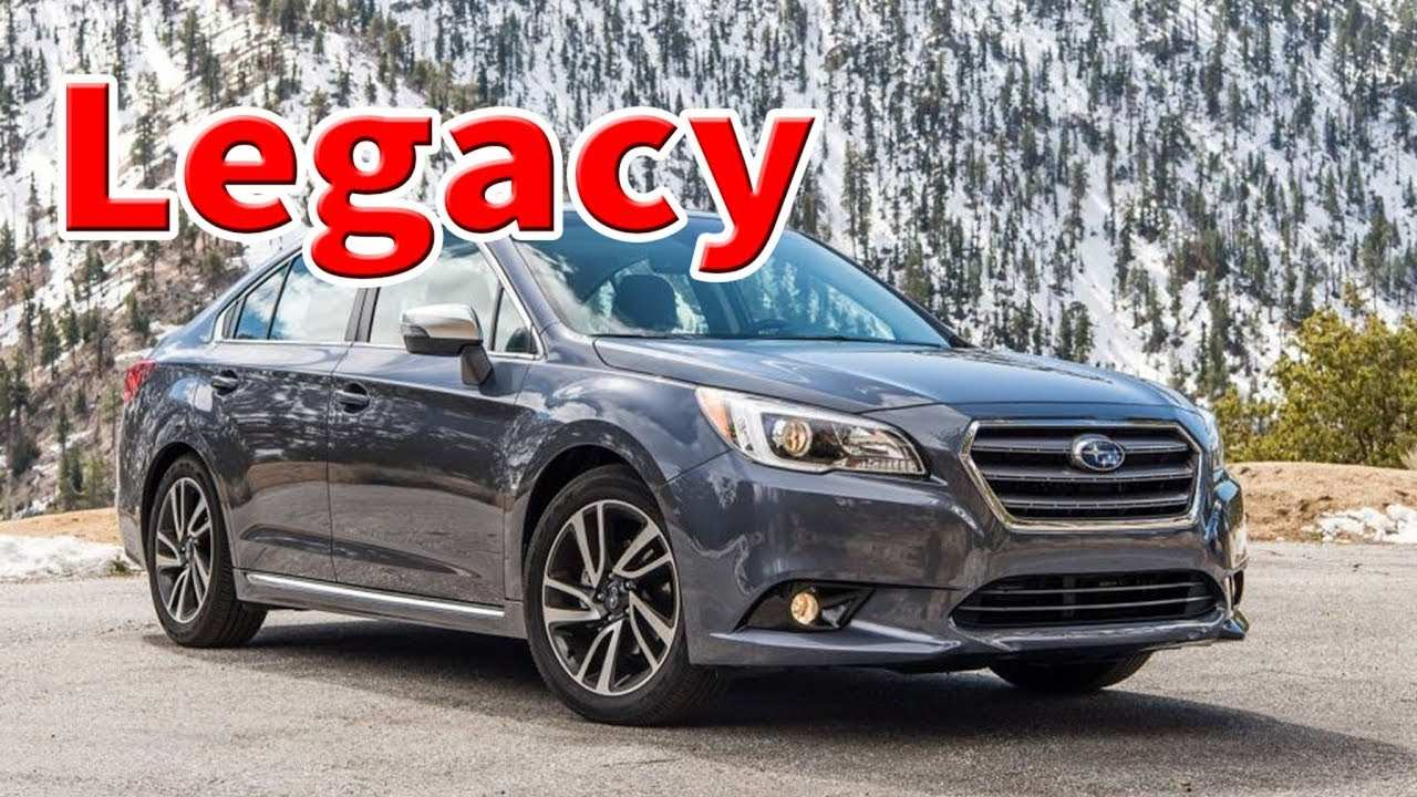 96 New 2020 Subaru Legacy Gt Price And Review