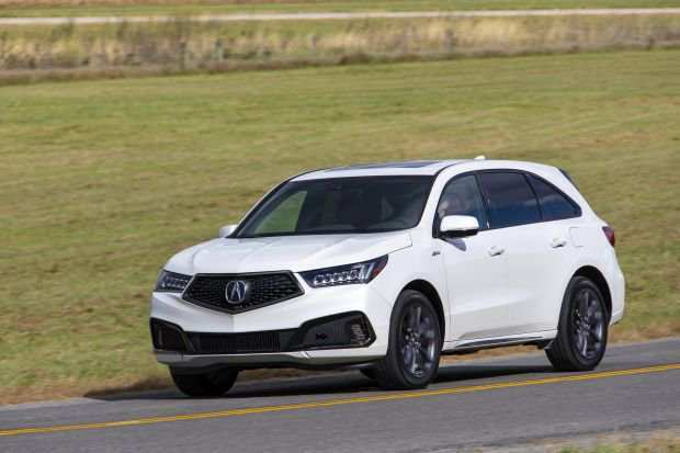 96 New Honda Mdx 2020 Review