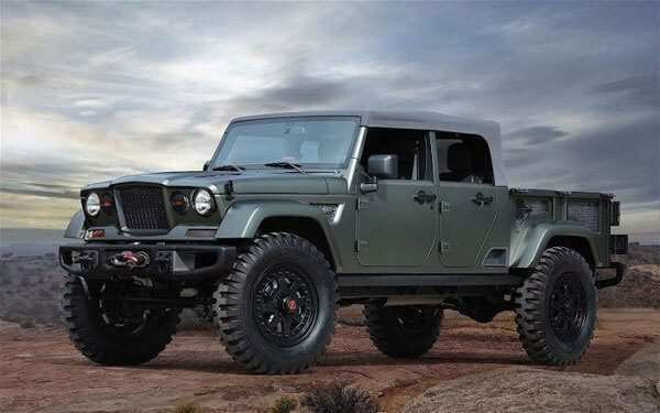 96 New Jeep Diesel 2020 Concept