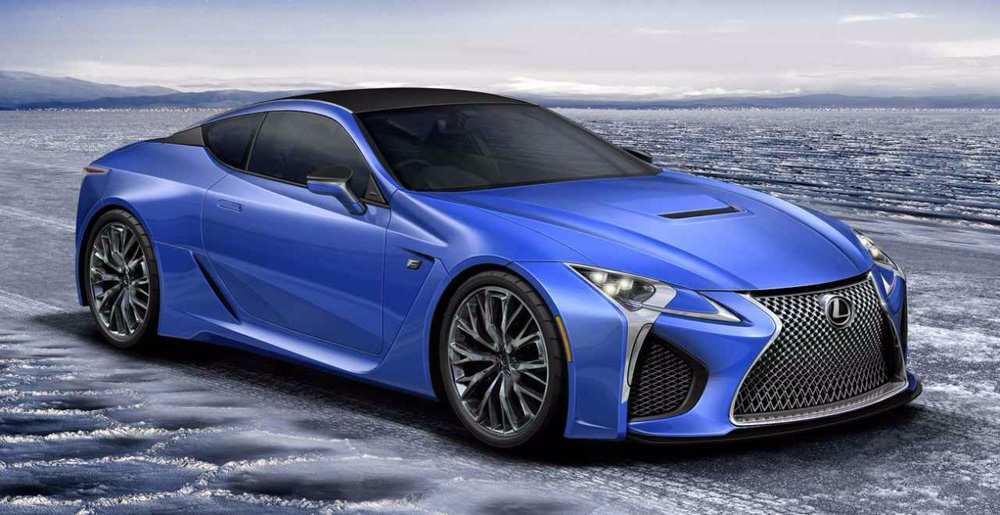 96 New Lexus Lc F 2020 Photos