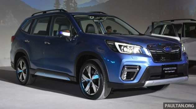96 New New Generation 2020 Subaru Forester Concept