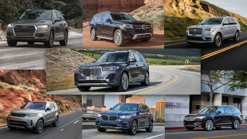 96 The 2019 BMW X7 Suv Series First Drive