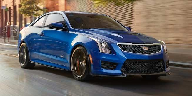 96 The 2019 Cadillac ATS V Coupe Pictures