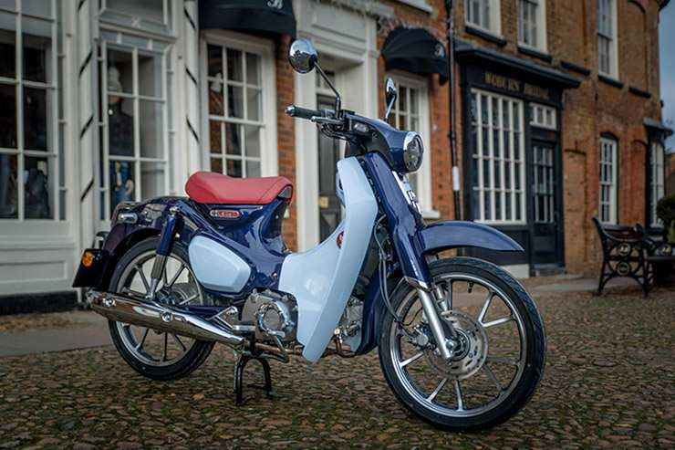 96 The 2019 Honda Super Cub Top Speed Release