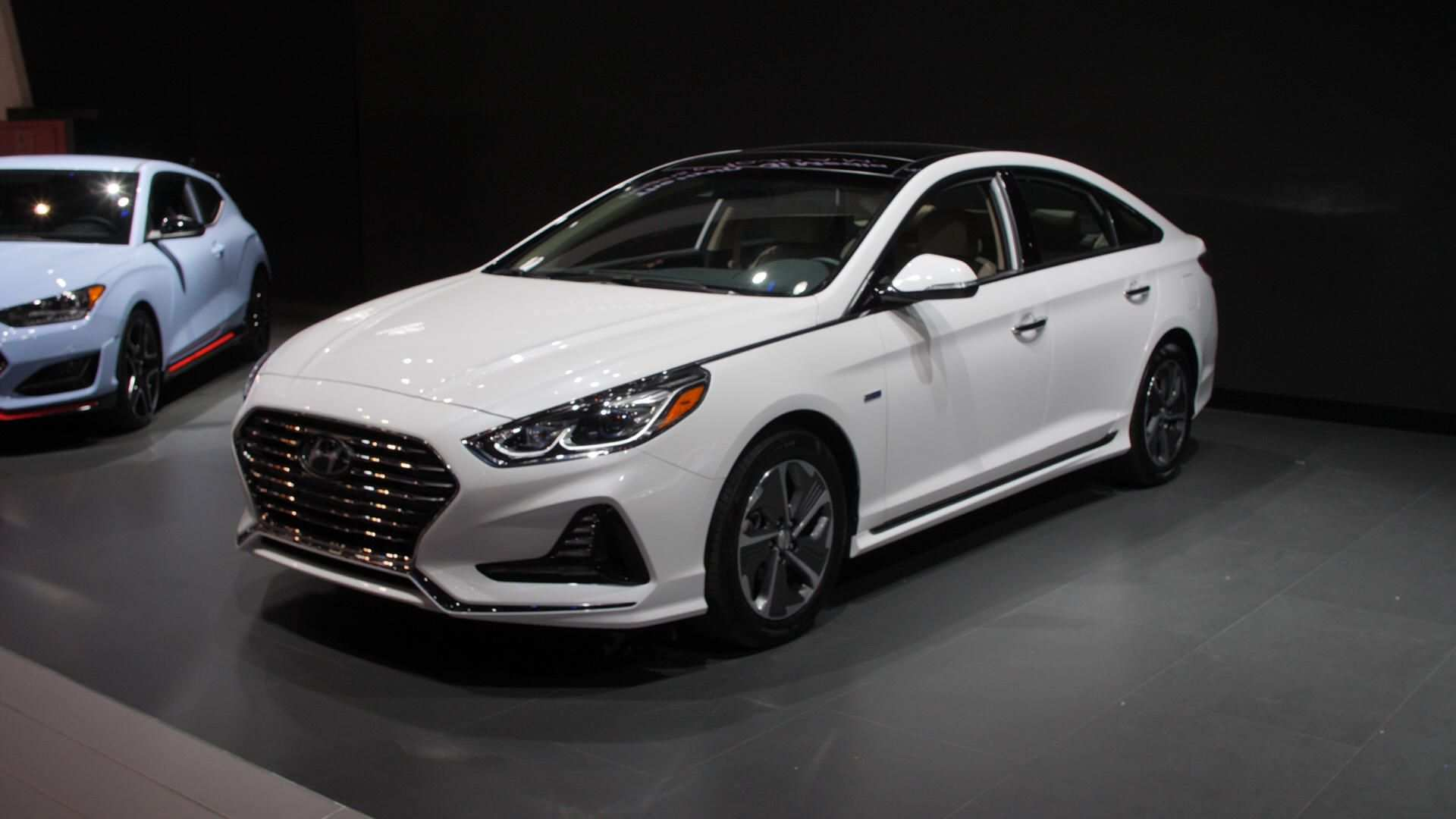 96 The 2019 Hyundai Sonata Hybrid Pictures