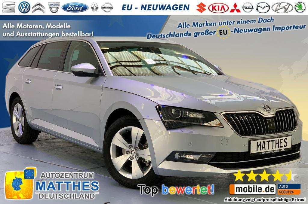 96 The 2019 Skoda Superb Style