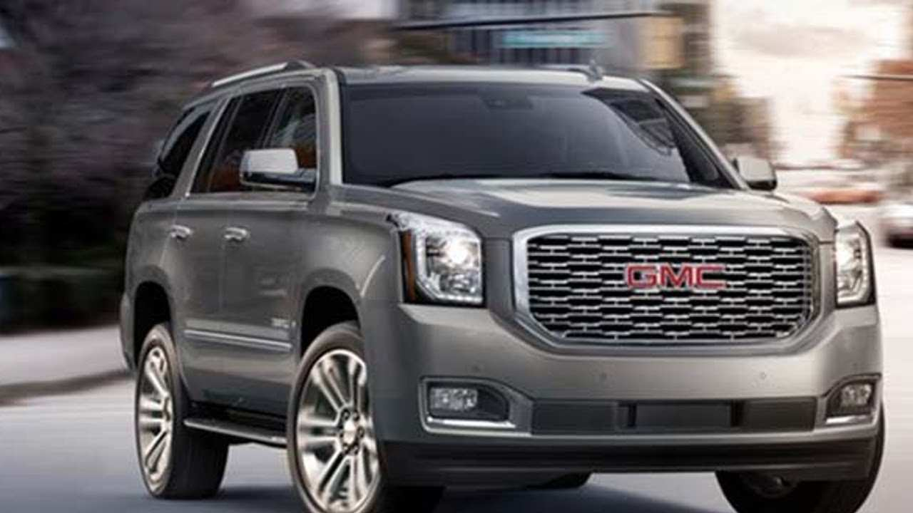 96 The 2020 GMC Yukon Xl Exterior