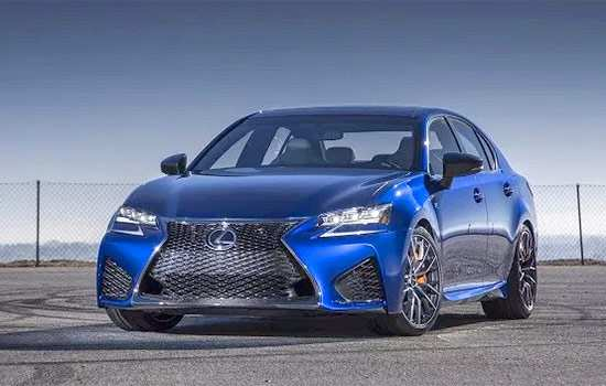 96 The 2020 Lexus GS F Images