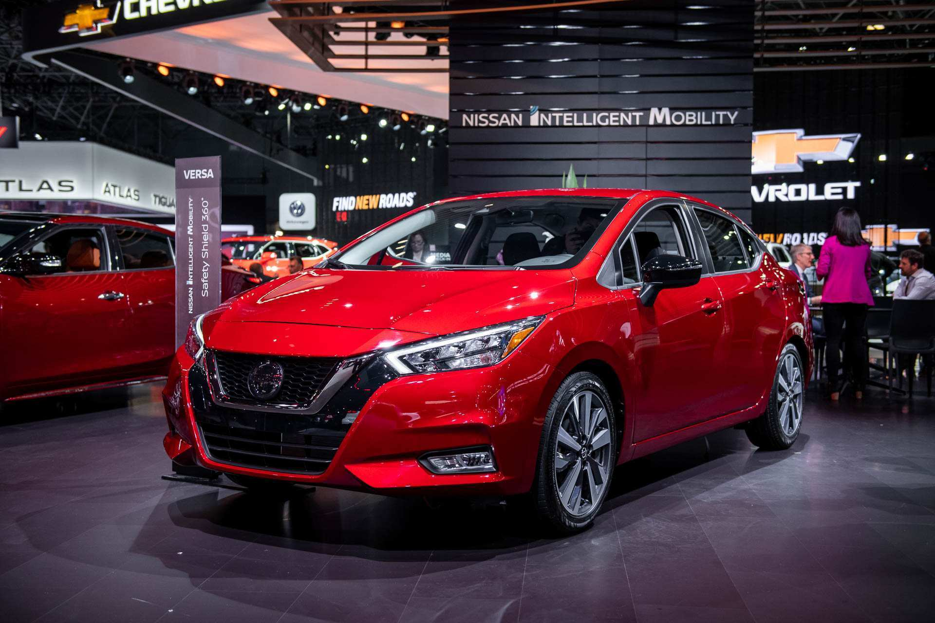 96 The 2020 Nissan Versa Interior