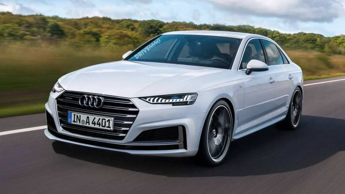 96 The Audi A4 B10 2020 New Concept