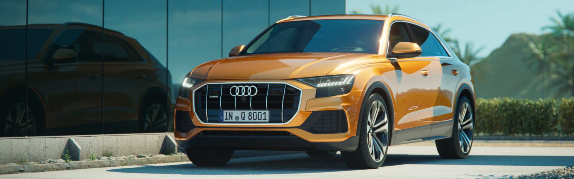 96 The Audi Q8 2020 Spy Shoot