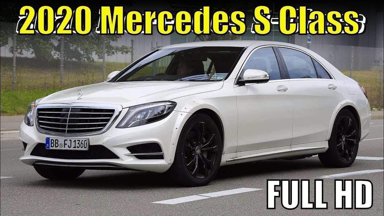 96 The Best 2020 Mercedes Benz S Class Images