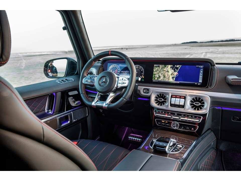 96 The Mercedes A Class 2019 Interior Overview