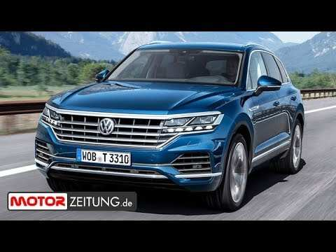 96 The Touareg Vw 2019 Spesification