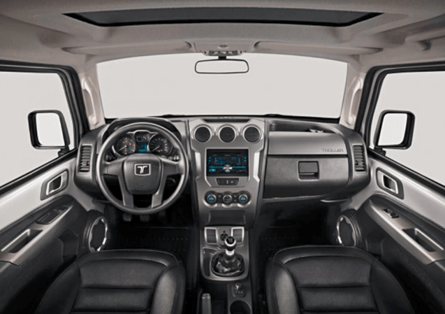 97 A 2019 Ford Troller T4 Configurations