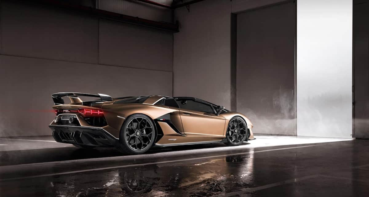97 A 2020 Lamborghini Aventador Speed Test