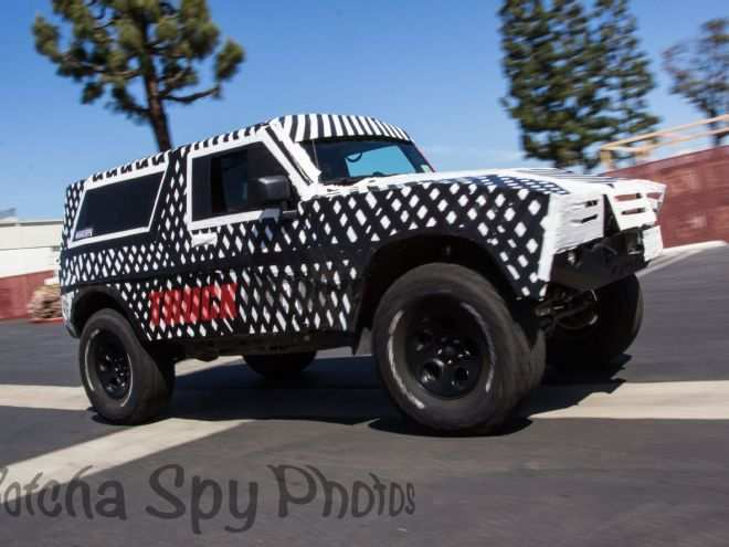97 A Ford Bronco 2020 Spy Photos Price Design And Review