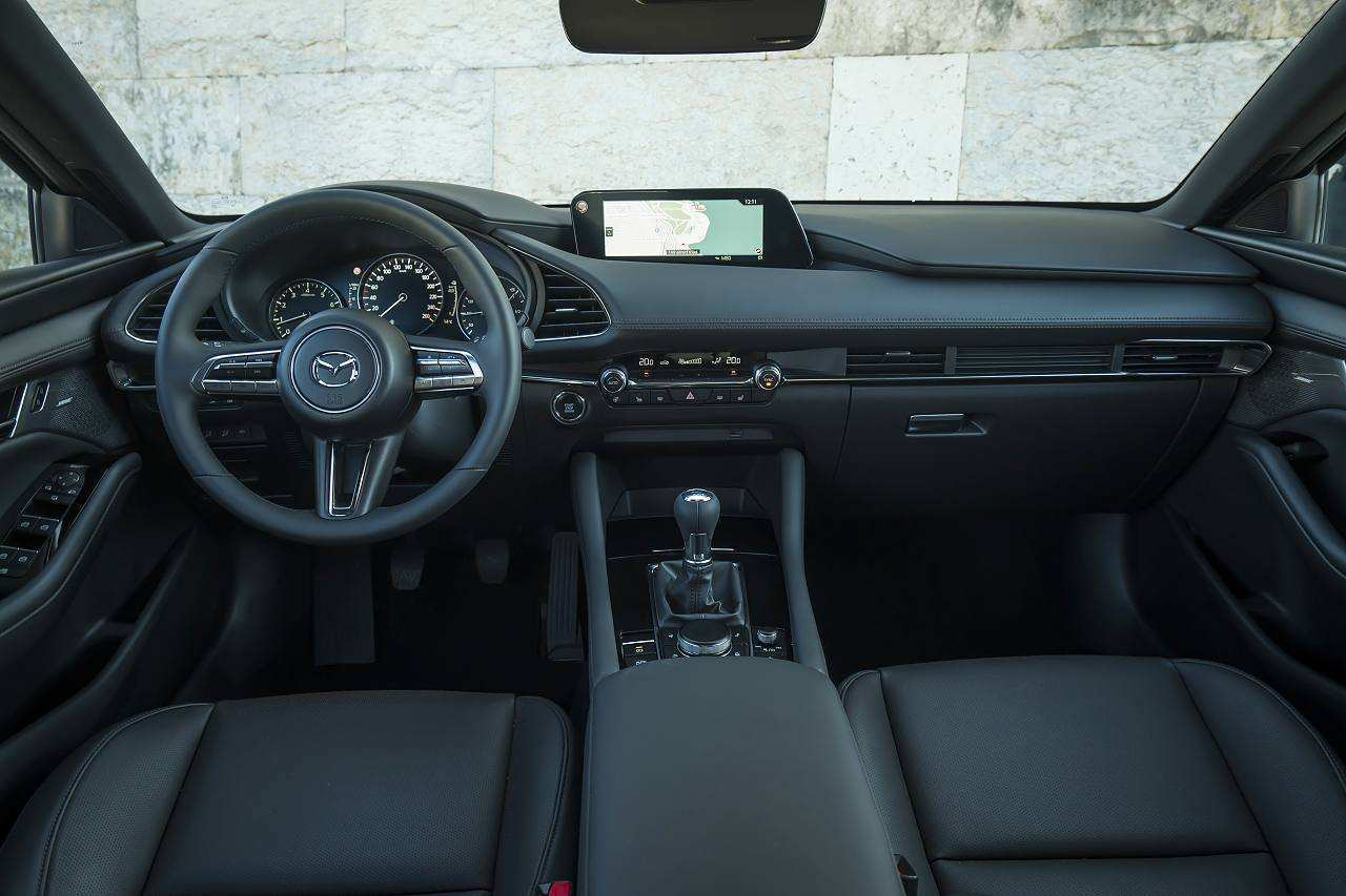 97 A Mazda 3 2019 Interior Spy Shoot